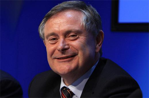 Minister for Public Expenditure Brendan Howlin. Photo: Collins