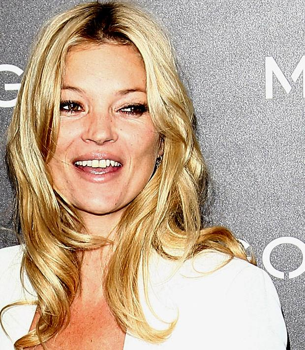 Kate Moss has designed a make-up range. Photo: Getty Images