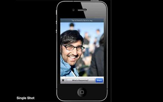 Facebook's forthcoming photo-uploading app could make tagging people easier