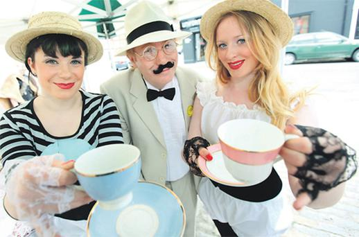 Blue Ruin, Paul Gunn and Helena Duffy in Dun Laoghaire yesterday