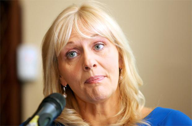 Miriam O'Callaghan: at the launch of Amnesty Ireland's right to health campaign yesterday