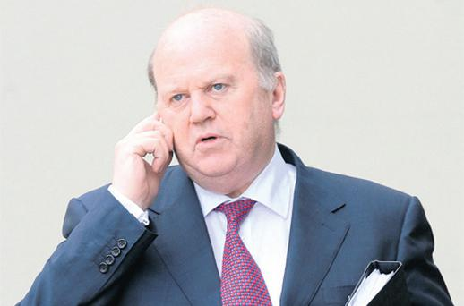 Finance Minister Michael Noonan claimed he didn't want provision written into the Bill