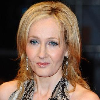 Harry Potter author JK Rowling has launched a mysterious new website