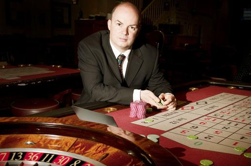 HIGH STAKES: David Hickson, director of the Gaming and Leisure Association of Ireland, believes plans for a €460m 'super casino' in Two-Mile Borris, Co Tipperary - which would be based on Las Vegas-style venues - are 'pie in the sky'. Photo: David Conachy