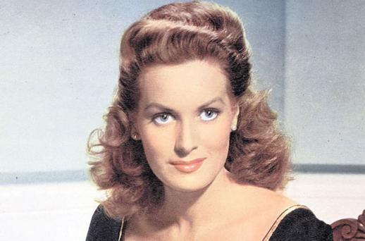 Maureen O'Hara, was once punched in the face by John Ford