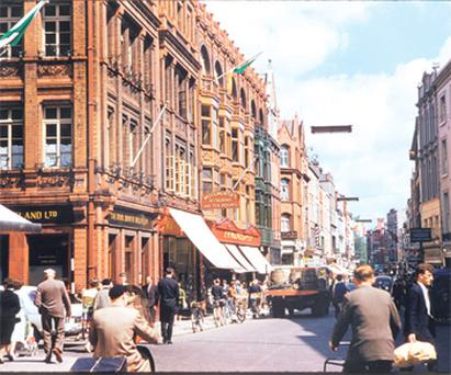 Grafton Street in 1961