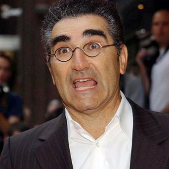 Eugene Levy's American Pie character has been voted the most embarrassing screen dad