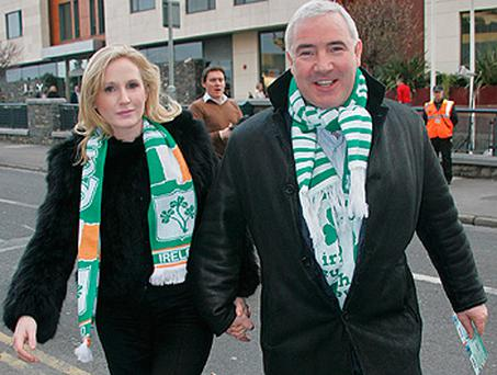 Sean Dunne and Gayle Killelea