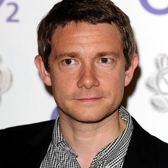 Martin Freeman is filming The Hobbit in New Zealand