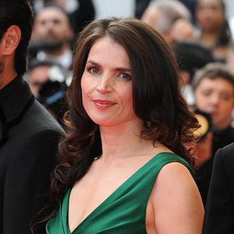 Julia Ormond has finished filming My Week With Marilyn