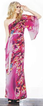 One-sleeve maxi dress, reduced from €82 to €32, Love Label at Littlewoods.ie