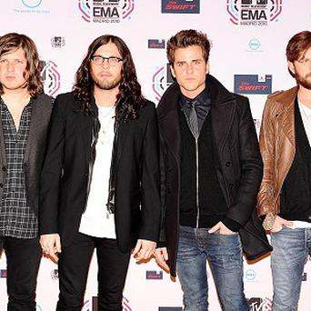 Kings of Leon are set to play at Murrayfield
