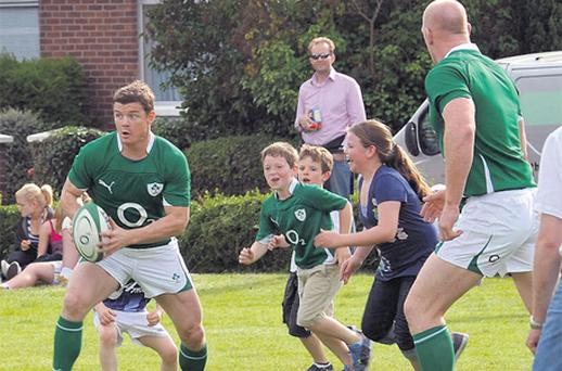 Clontarf residents take on Brian O'Driscoll