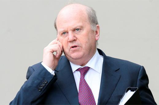 Finance Minister Michael Noonan. Photo: Frank McGrath