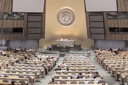Whither Palestine? the United Nations in session in New York