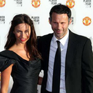 Ryan Giggs with his wife Stacey
