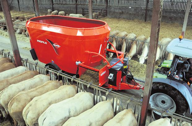 Use of a diet feeder can help save money
