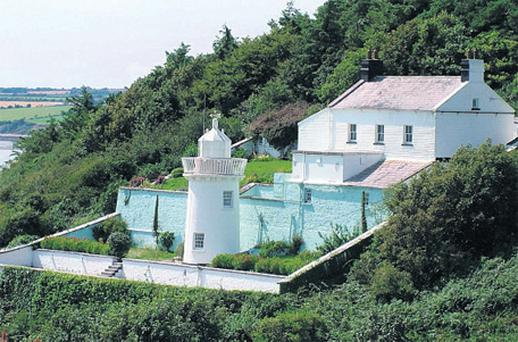 Duncannon North Lighthouse, which has views over the Suir estuary, was sold for around €300,000