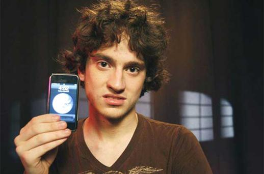 George Hotz posted details of how to unlock the iPhone and Sony's PlayStation. Photo: AP