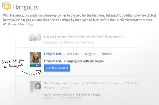 The Google+ social network is intended to rival Facebook and Twitter