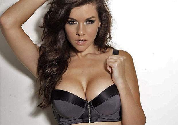 Former Miss Wales Imogen Thomas. Photo: PA