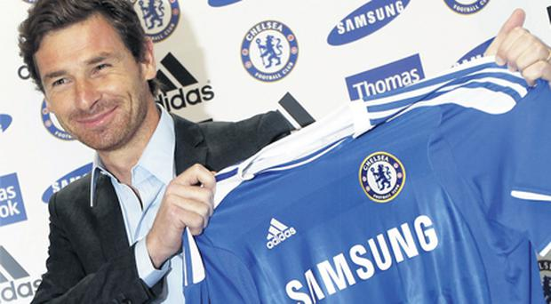 Andre Villas-Boas nails his colours to the mast at Stamford Bridge yesterday