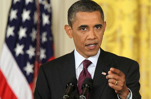 The broadcaster was giving his thoughts on a press conference which Barack Obama gave on Wednesday. Photo: Getty Images