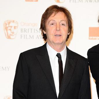 Sir Paul McCartney doesn't see making music as work