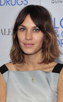NEW YORK - NOVEMBER 16: Television Personality Alexa Chung attends a screening of