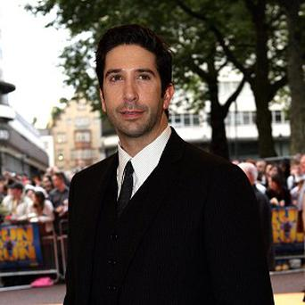 David Schwimmer has a new baby daughter named Chloe