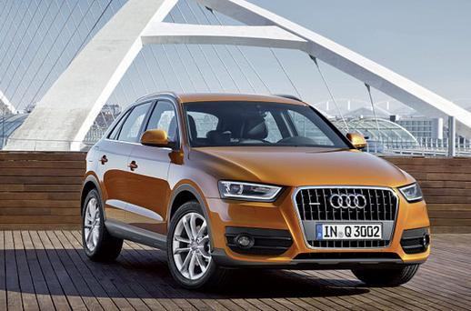 BREAKING THE MOULD: The Q3 is Audi's first foray into the premium A SUV market