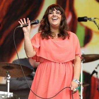 Rumer played the Glastonbury music festival last week