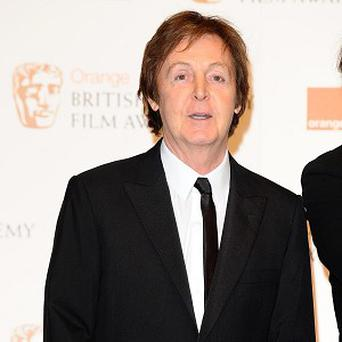 Sir Paul McCartney won the best live act gong