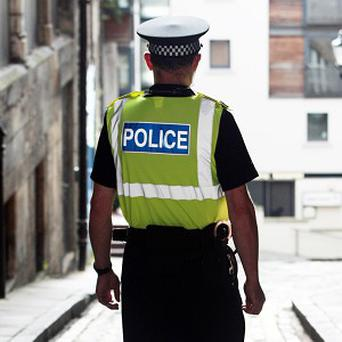 A boy of three has been caught vandalising cars in the a street near his home, police have said