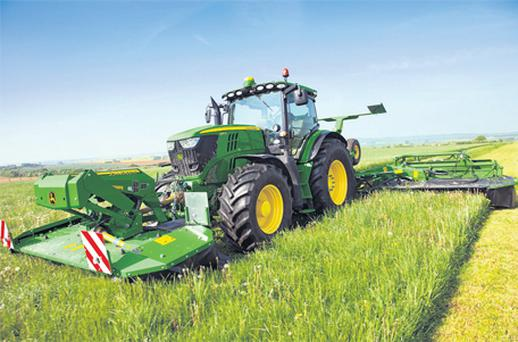 All new: John Deere's new 6R and 7R models have been designed to meet new emission regulations