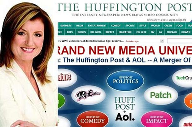 Arianna Huffington, the pundit and founder of the influential website, took over AOL's editorial operations as part of the takeover deal
