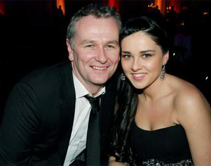 Daithi O Se with Rita Talty