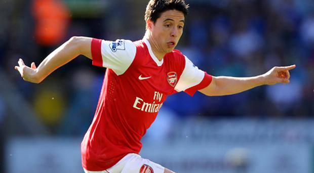Arsenal face losing Nasri for nothing if he sees out the final 12 months of his contract and continues to reject the offer of a new deal. Photo: Getty Images