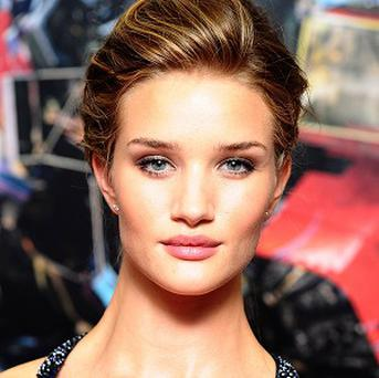 Rosie Huntington-Whiteley reckons high heels are a bad idea for action scenes