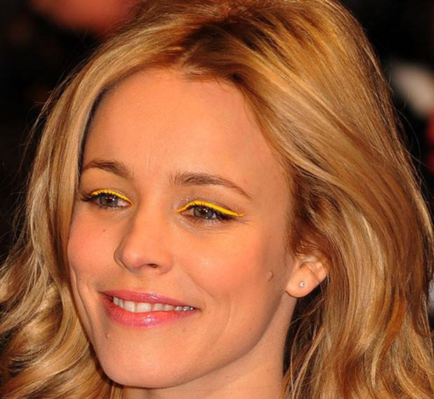 Rachel Mcadams rocks the yellow fever look. Photo: Getty Images