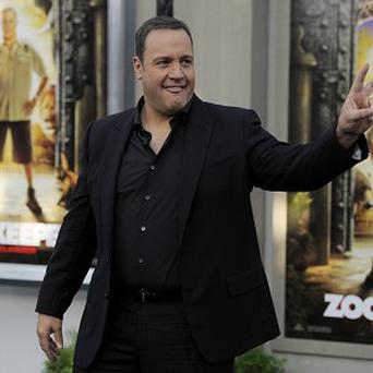 Kevin James had to shampoo a wolf for Zookeeper