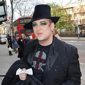Boy George once said he wouldn't mind a place on the judging panel