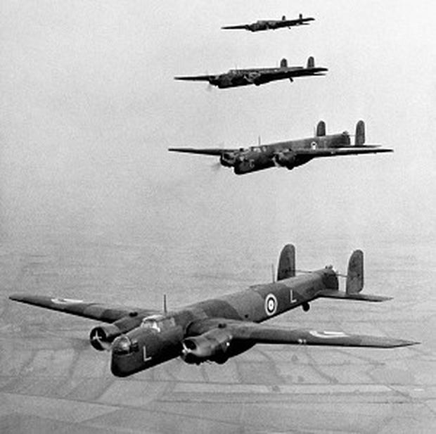 Bombing raids in the Second World War had an effect on the climate, scientists say