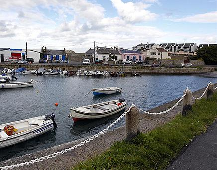 Bullock Harbour in the heart of Dalkey