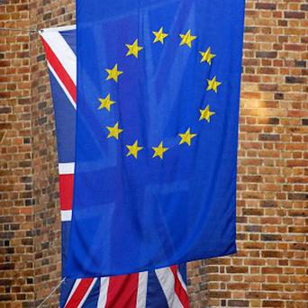 The EC has denied Northampton University was fined over not flying an EU flag