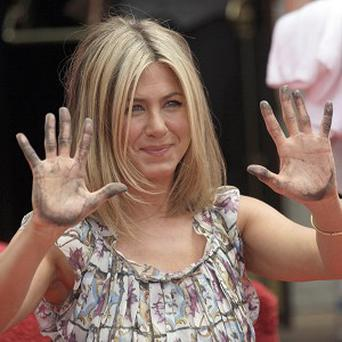 Jennifer Aniston said she never expected such an honour