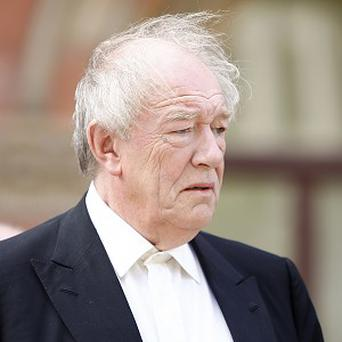 Michael Gambon annoyed costume staff by getting food in Dumbledore's beard