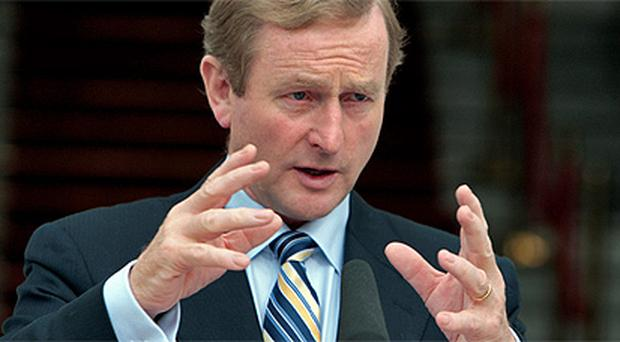 Enda Kenny: said Italy's debt was cause for concern