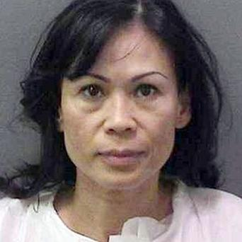 Catherine Kieu is accused of cutting off her estranged husband's penis (AP)