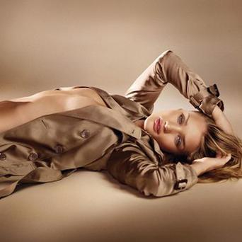 Rosie Huntington-Whiteley launching the new fragrance Burberry Body